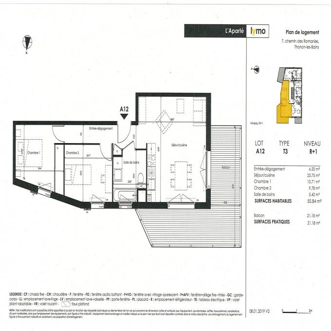Programme neuf Appartement Thonon-les-Bains (74200)